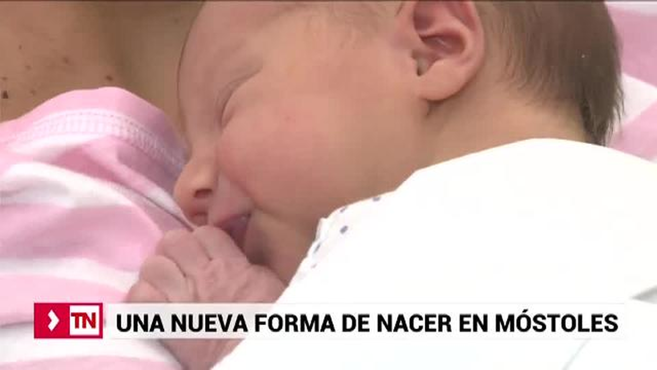Las nuevas salas de maternidad del Hospital de Móstoles reciben a los primeros bebés