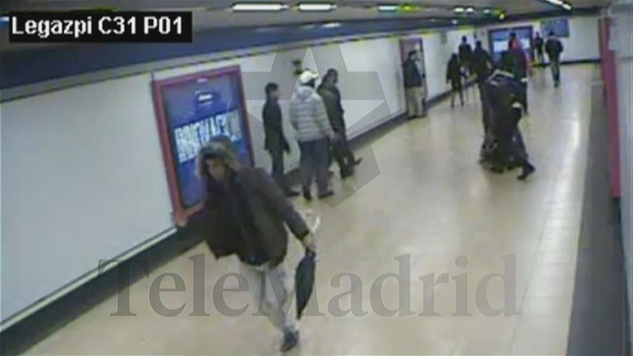 Brutal pelea en el metro de Madrid entre bandas latinas