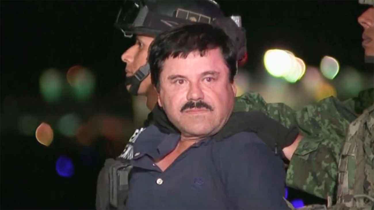 """""""El Chapo"""" Guzmán se enfrenta a cadena perpetua en un juicio con fuertes medidas seguridad"""