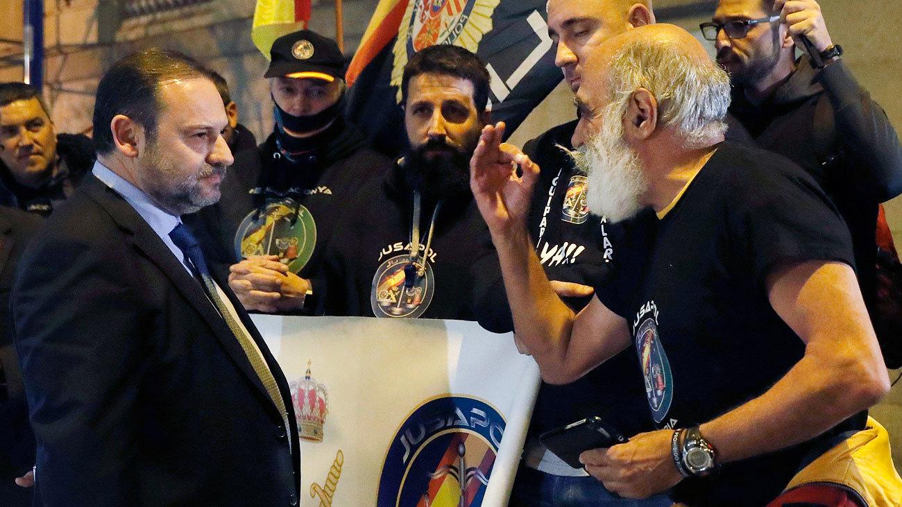 El Congreso admite tramitar la ley de Jusapol para equiparar los sueldos de policías