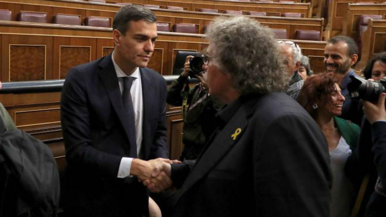 """Sánchez censura a Tardá que hable de jueces """"comprados"""""""