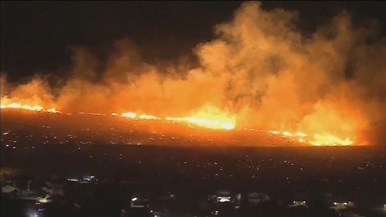 Los incendios de California aun no están controlados
