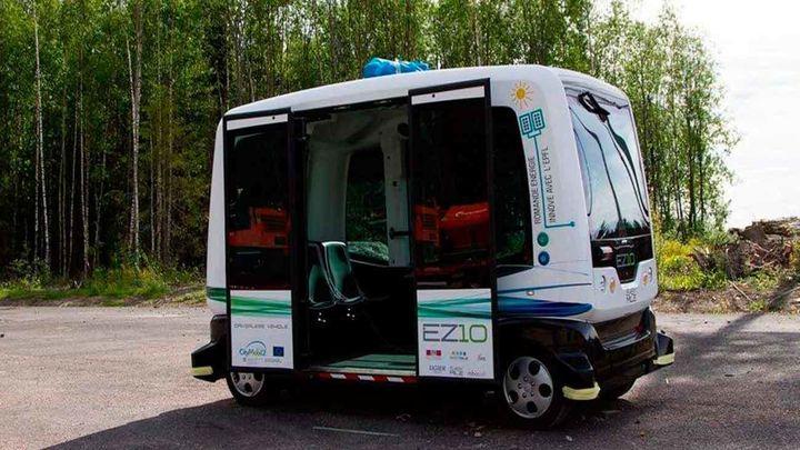 Un autobús eléctrico sin conductor circulará por Colón la próxima semana