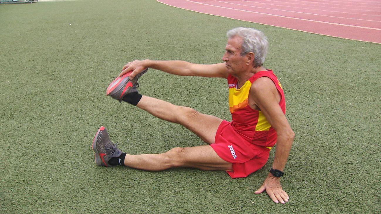 Manuel Alonso bate el récord mundial de 800 metros para mayores de 85 años