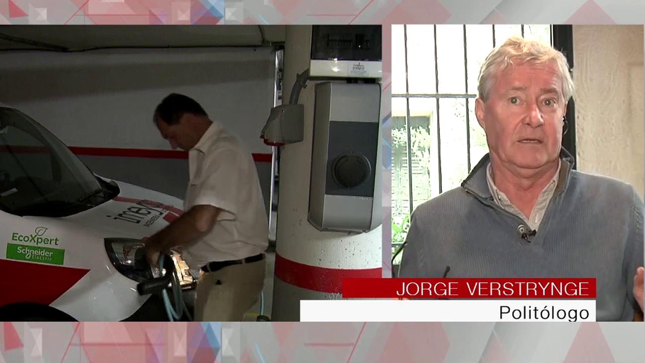 """Jorge Verstrynge: """"El coche eléctrico es caro y va a provocar un paro importante"""""""