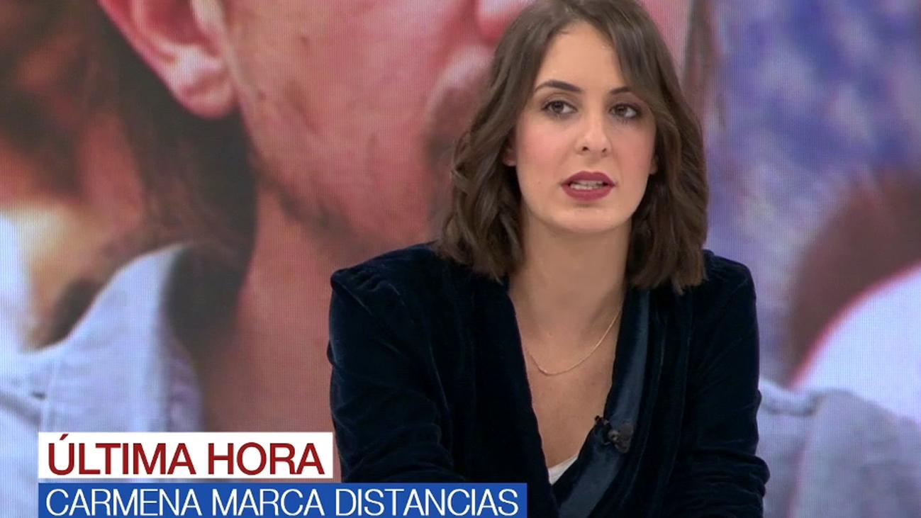"""Rita Maestre ve solución en la crisis de Podemos Madrid: """"Se va a encauzar"""""""