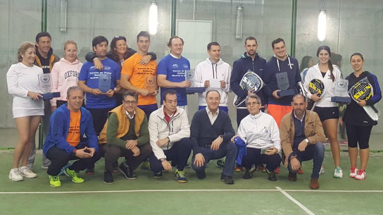 Éxito del Torneo de Pádel Solidario 'Madrid se Mueve'