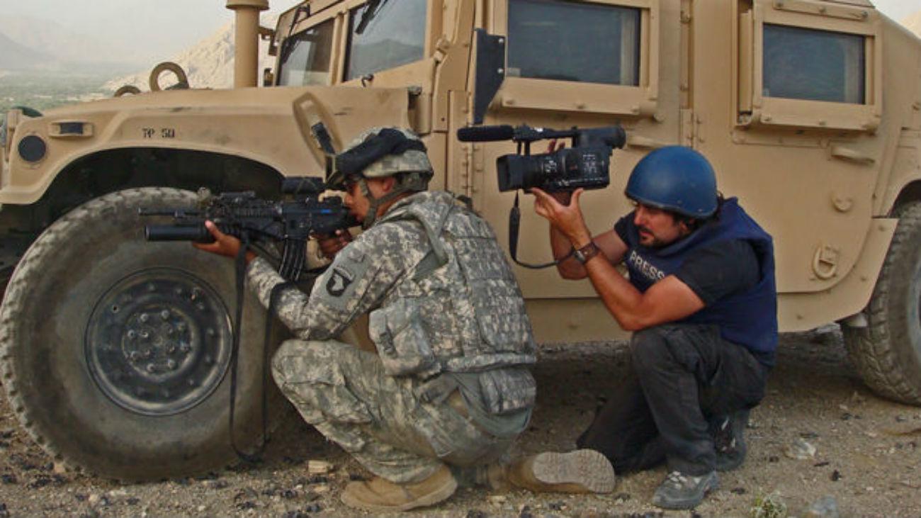 """""""Morir para contar"""", los traumas de los corresponsales de guerra"""