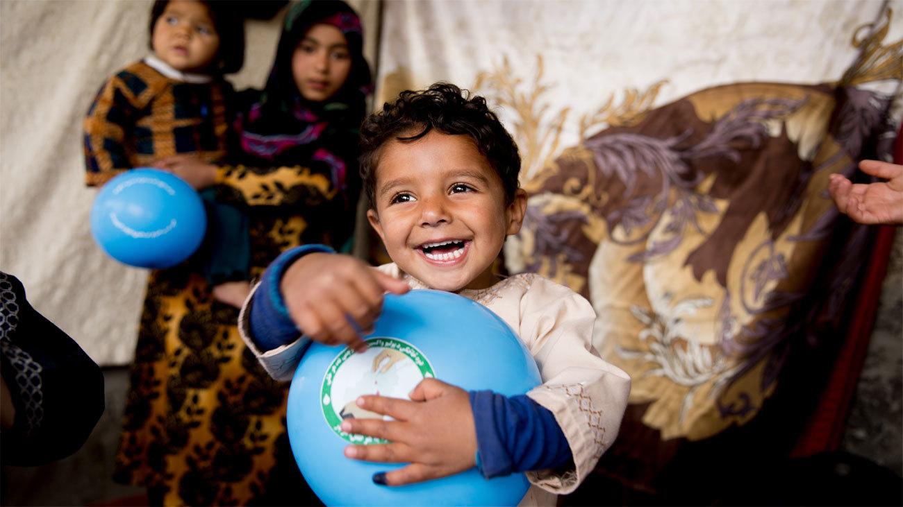 UNICEF celebra el  Día Mundial de los Niños recordando a los más vulnerables