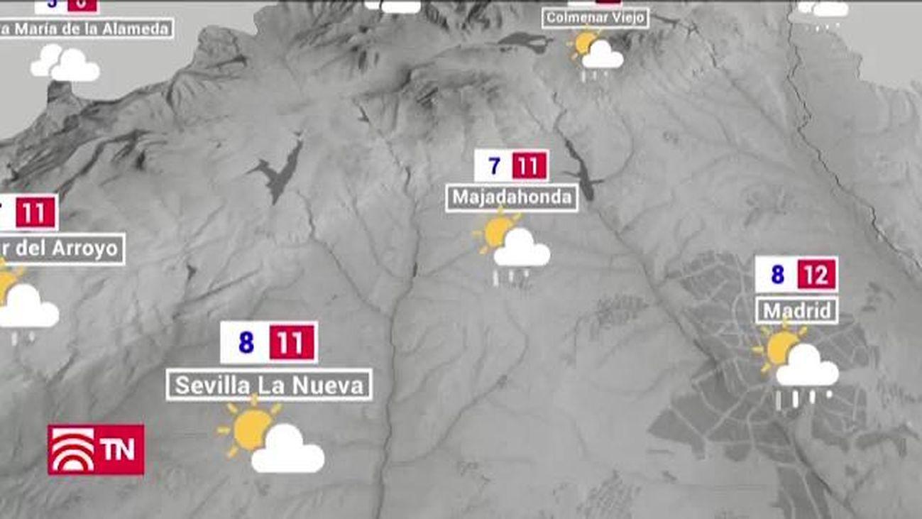 Las lluvias seguirán mandando en Madrid en los próximos días