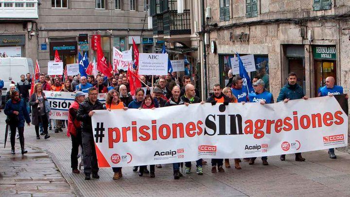 Los sindicatos de prisiones dan 72 horas para negociar o retomarán la huelga