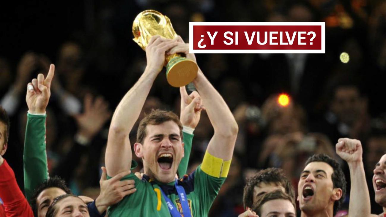Iker Casillas se deja querer
