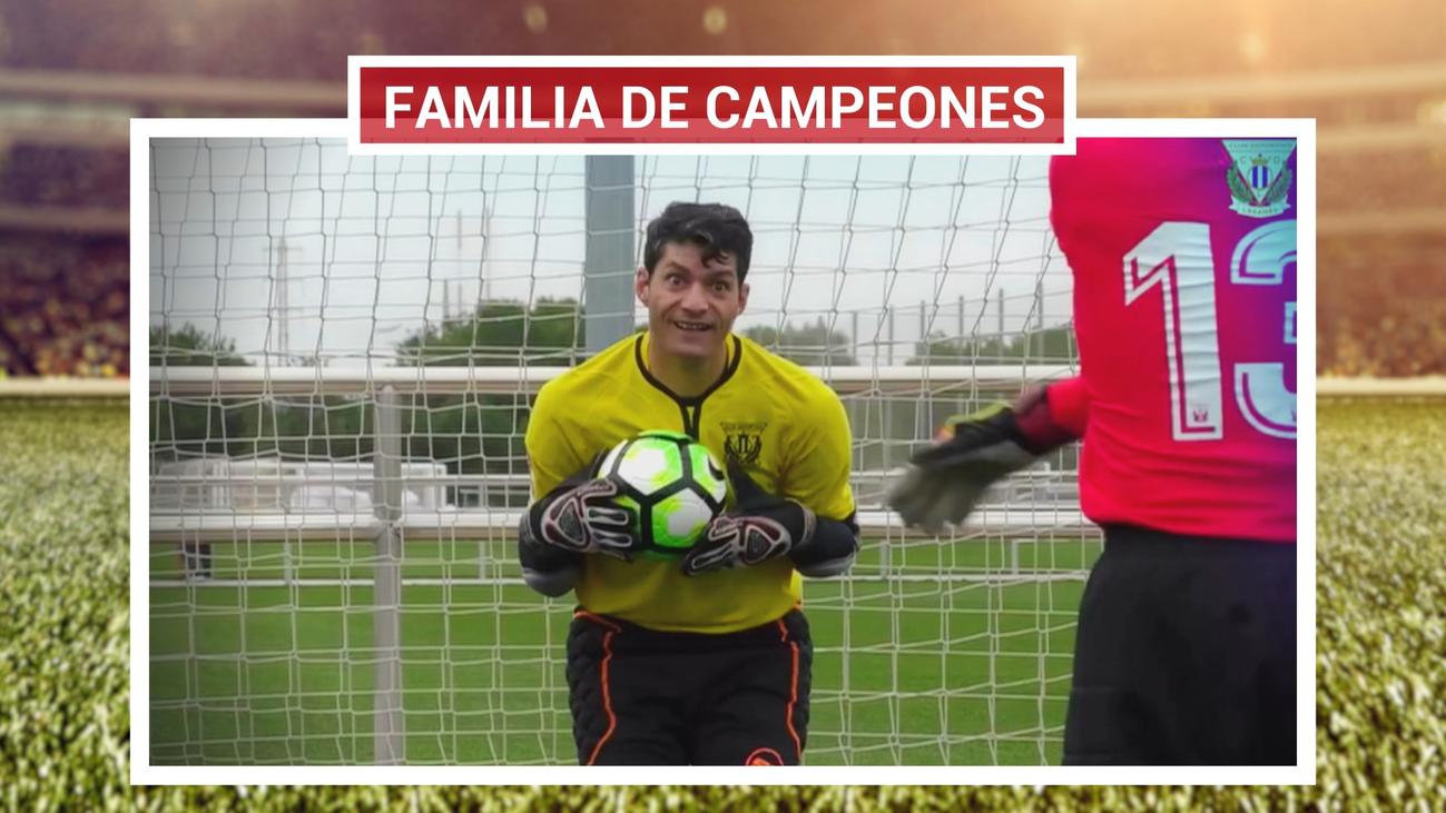 Josemi, 'la araña' del Leganés de la Liga Genuine