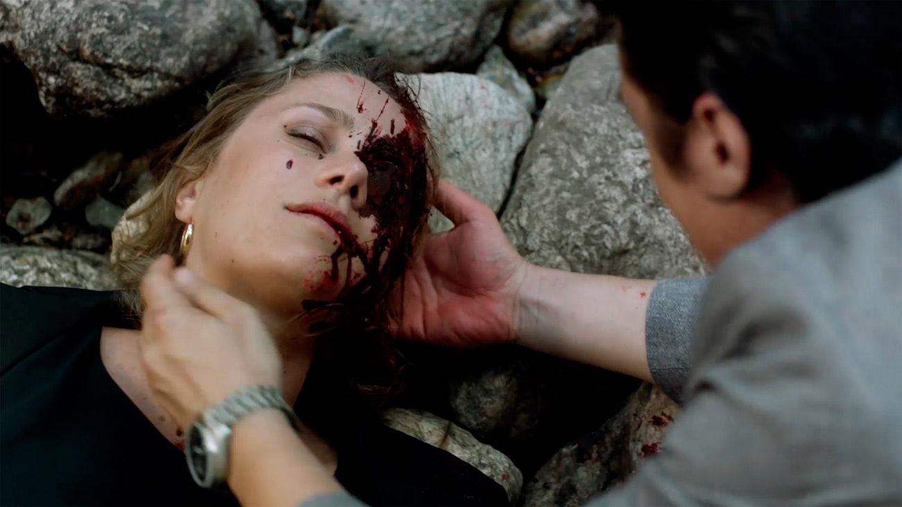 Almudena muere en brazos de Gaizka