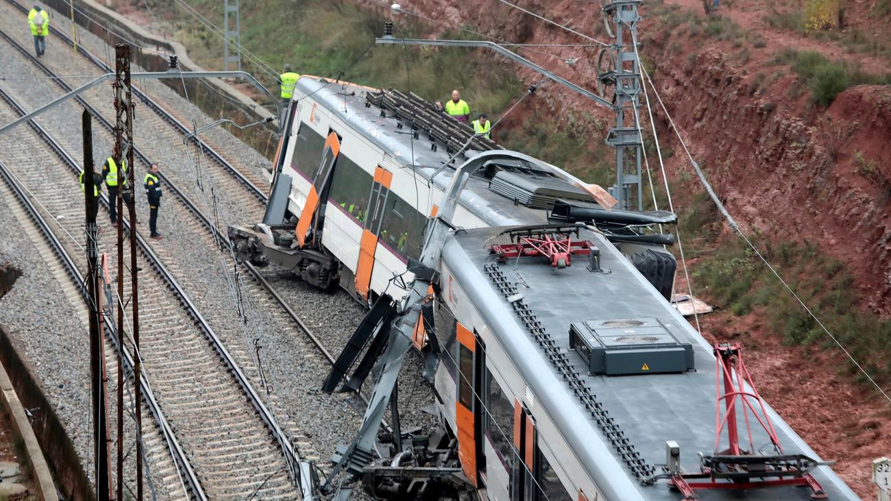 Un hombre de 36 años, víctima mortal del descarrilamiento de un tren en Vacarisses