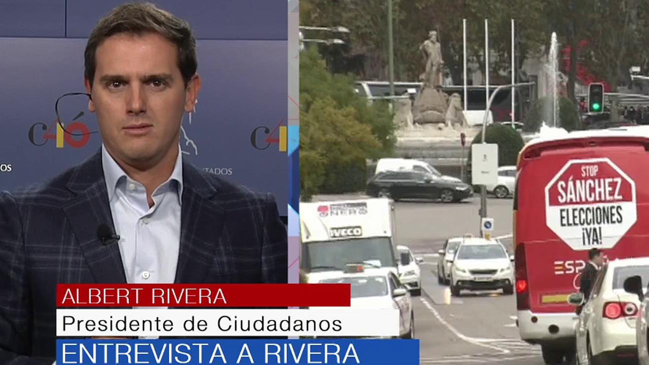 """Albert Rivera, sobre Sánchez: """"Que convoque elecciones y gane el mejor"""""""