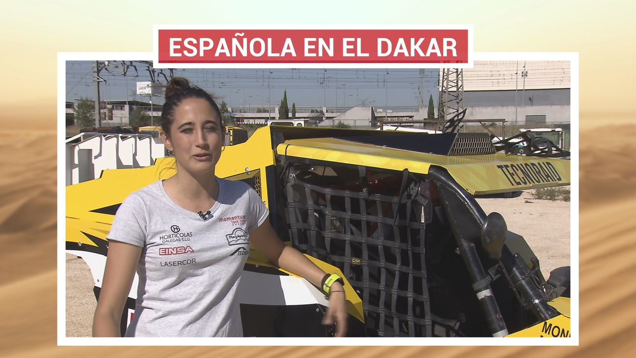 Mónica Plaza, una madrileña en el Dakar