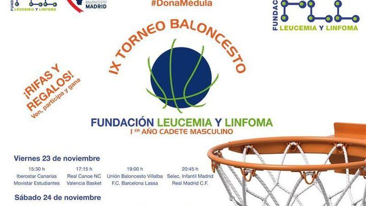 IX Torneo de baloncesto Fundación Leucemia y Linfoma