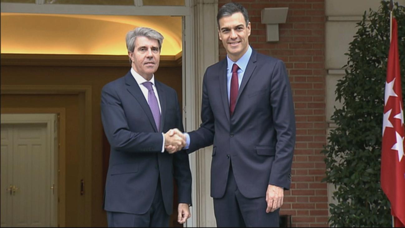 Garrido y Sánchez avanzan en el desbloqueo de la variante de la A1 y Cercanías