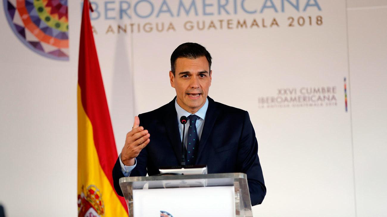 Sánchez inicia su viaje a Cuba con una reunión con Díaz-Canel en La Habana