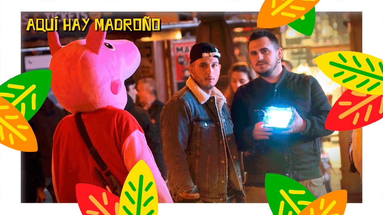 Omar Montes graba un videoclip en mitad de la Puerta del Sol