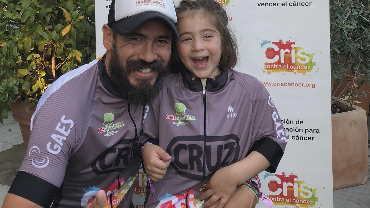 Daniel Guerrero, el poder del deporte para luchar contra el cáncer infantil