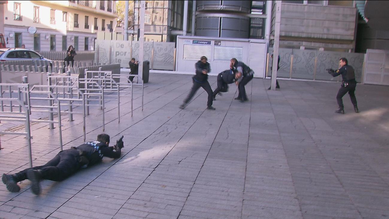 Simulacro de ataque terrorista con toma de rehenes en el Wizink Center