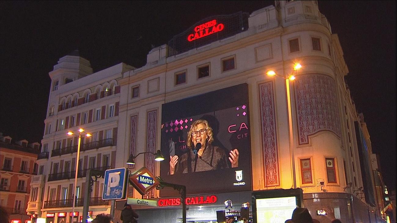 Carmena dice que la nueva Gran Vía acerca Madrid a las capitales del mundo