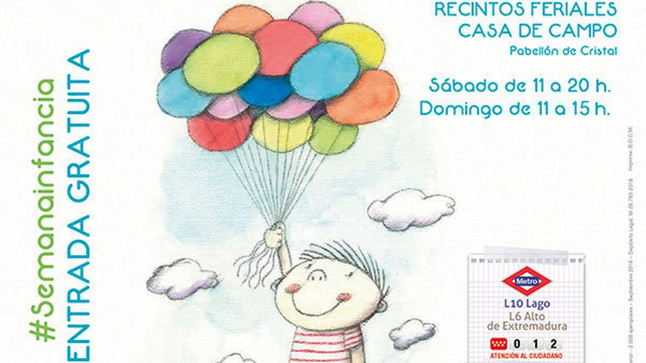 El Día de la Infancia se celebra en Madrid con actividades gratuitas en la Casa de Campo