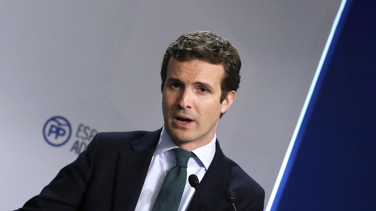 """Casado califica de """"cesión histórica"""" el acuerdo de Sánchez sobre Gibraltar"""
