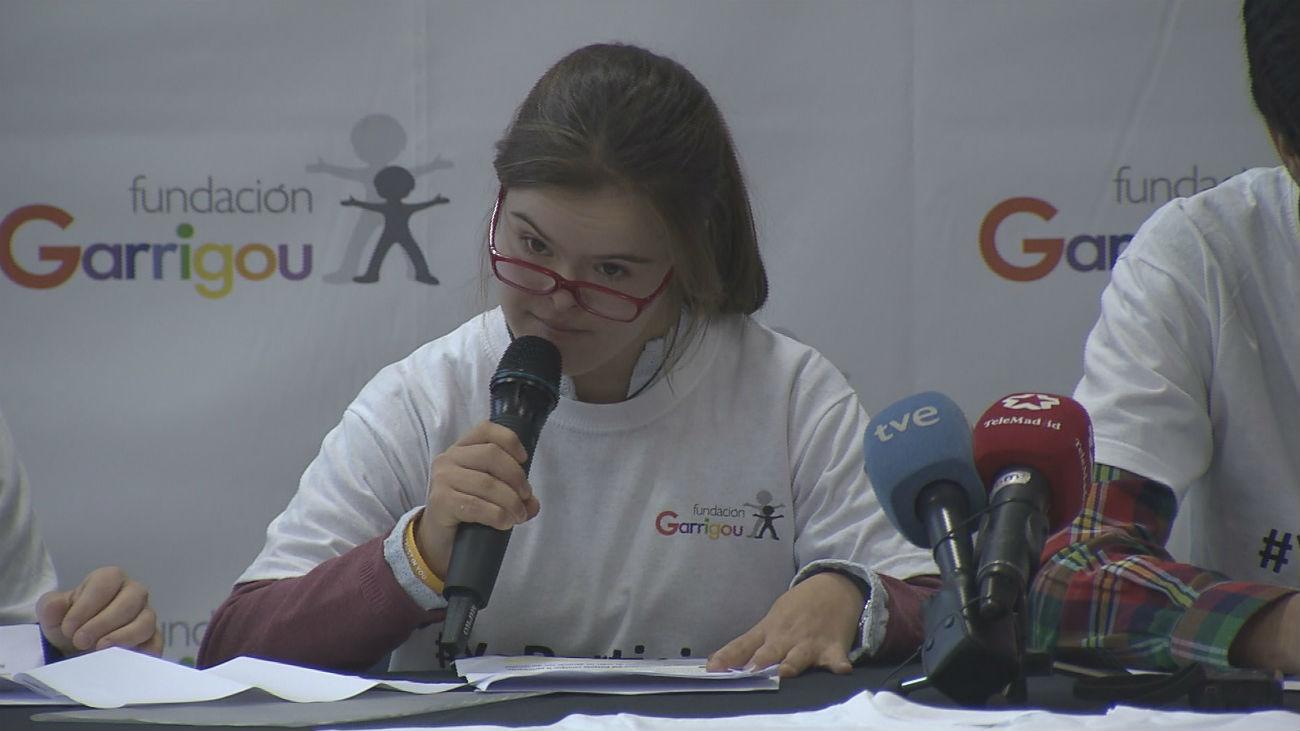 """Chicos con discapacidad intelectual presentan la campaña """"Yo Participo"""""""