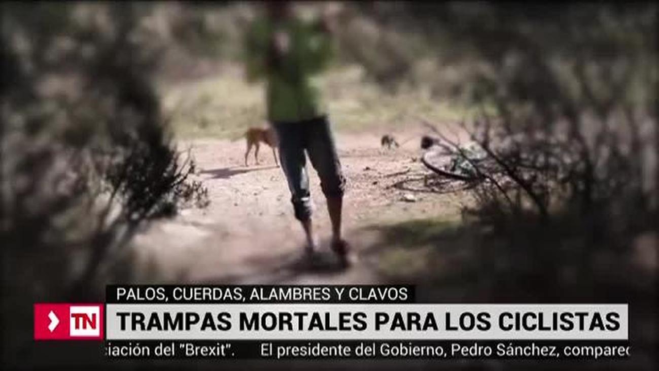 Trampas mortales para ciclistas en los caminos de montaña