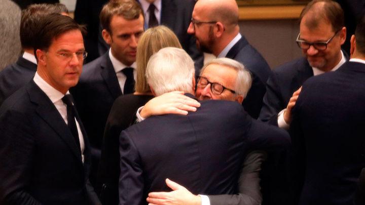 """Los Veintisiete dan su apoyo político a los acuerdos del """"brexit"""""""