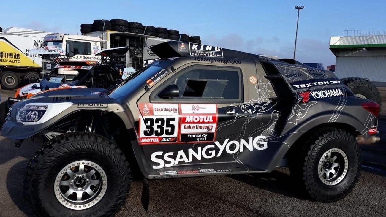 Conocemos el SsangYong para el Dakar