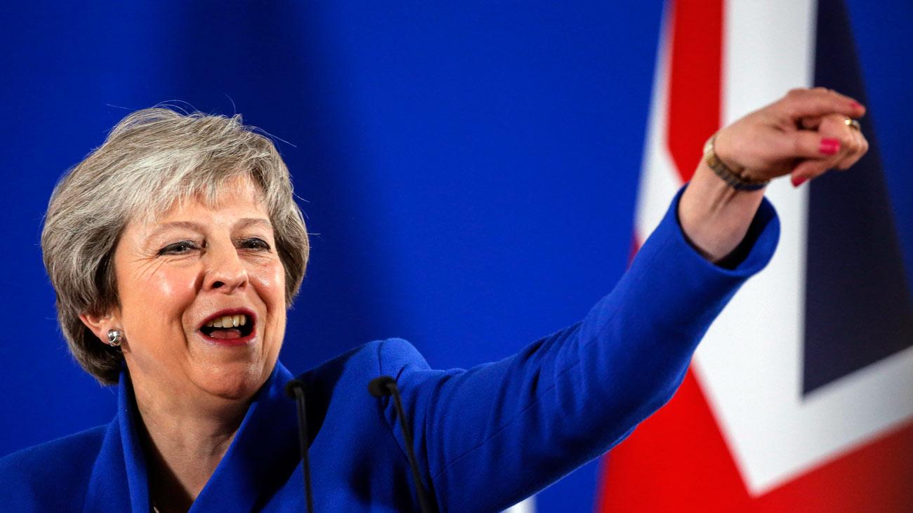 """May: """"Hemos logrado el mejor acuerdo posible disponible"""" sobre el """"brexit"""""""
