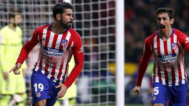Gol de Diego Costa al Barcelona