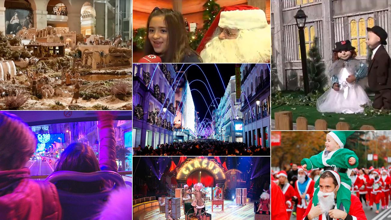 Navidad en Madrid: planes para hacer con niños