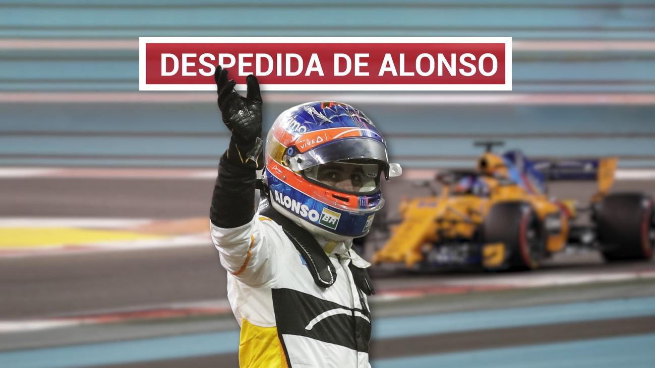 Alonso dice adiós al gran circo
