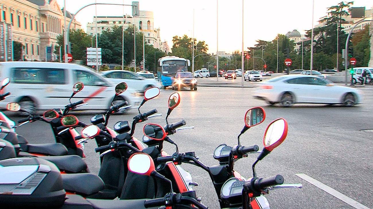 Motos eléctricas compartidas, una solución de movilidad