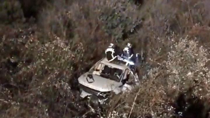 Un muerto y tres heridos en un accidente en Hoyo de Manzanares