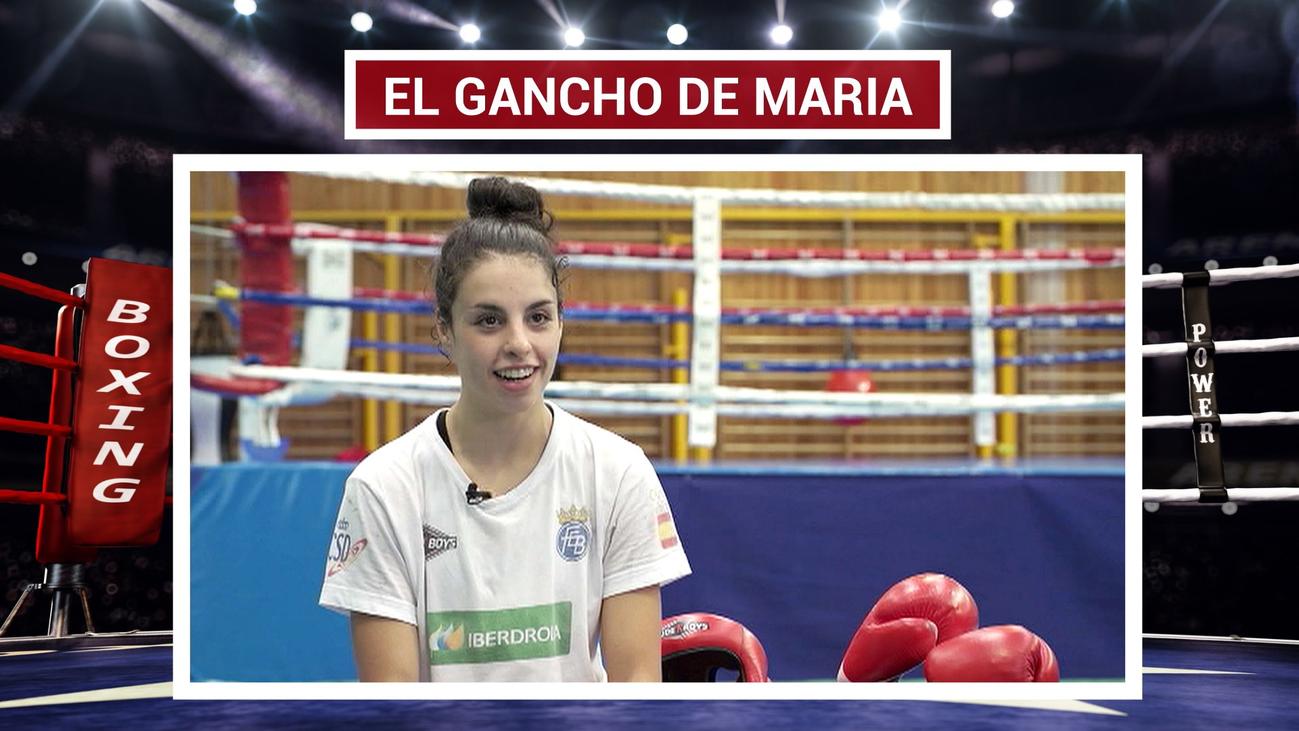 El boxeo le ha cambiado la vida a María González
