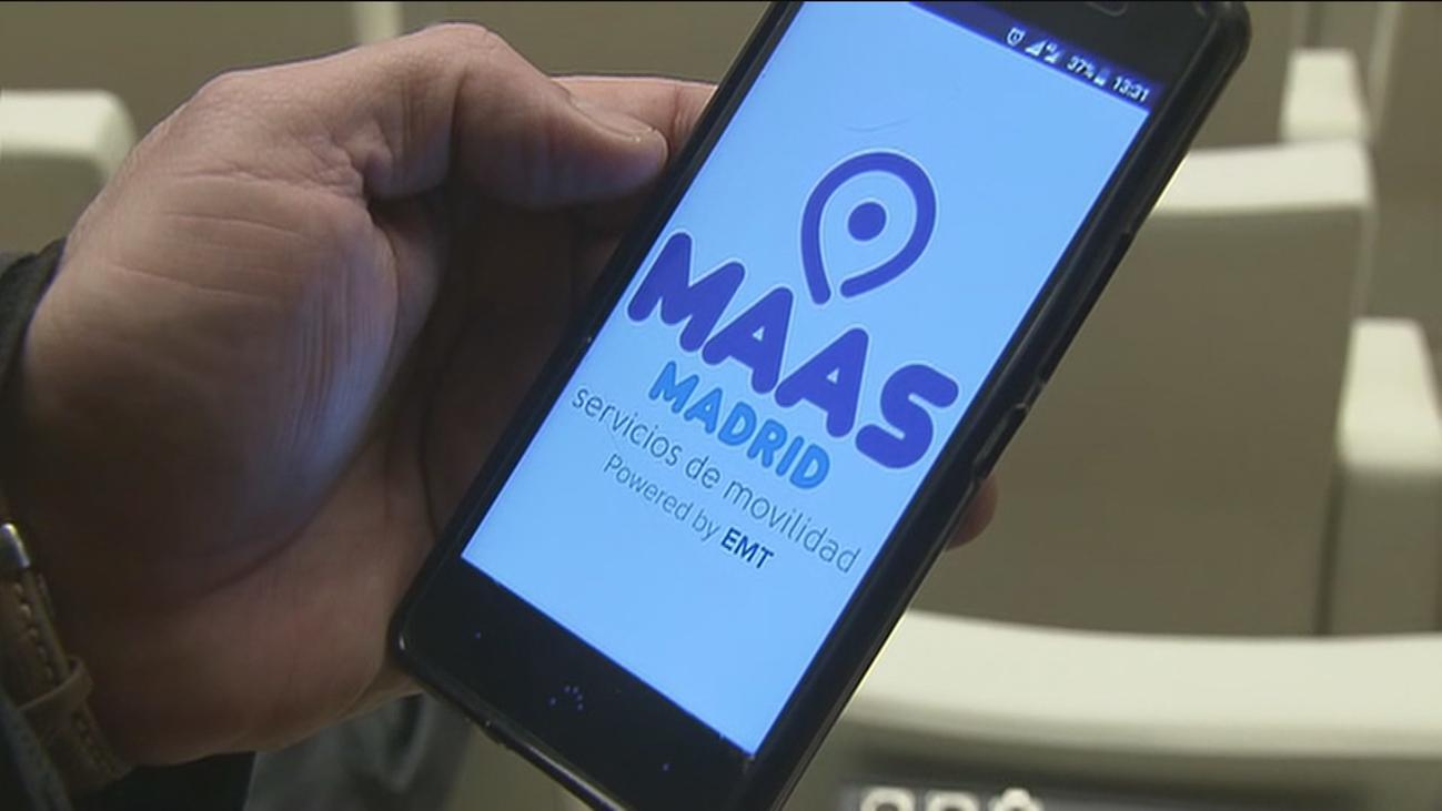 """""""MaaS Madrid"""", una 'app' que integra todas las formas sostenibles de moverse"""