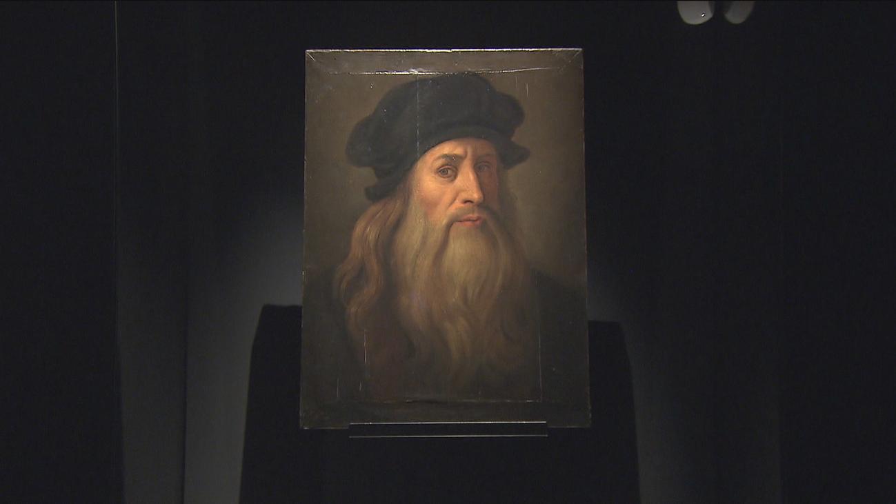 La Tavola Lucana de Leonardo Da Vinci en el Palacio de las Alhajas