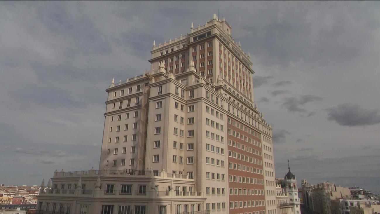 Las obras  del Edificio España podrán ser retomadas tras ser paralizadas