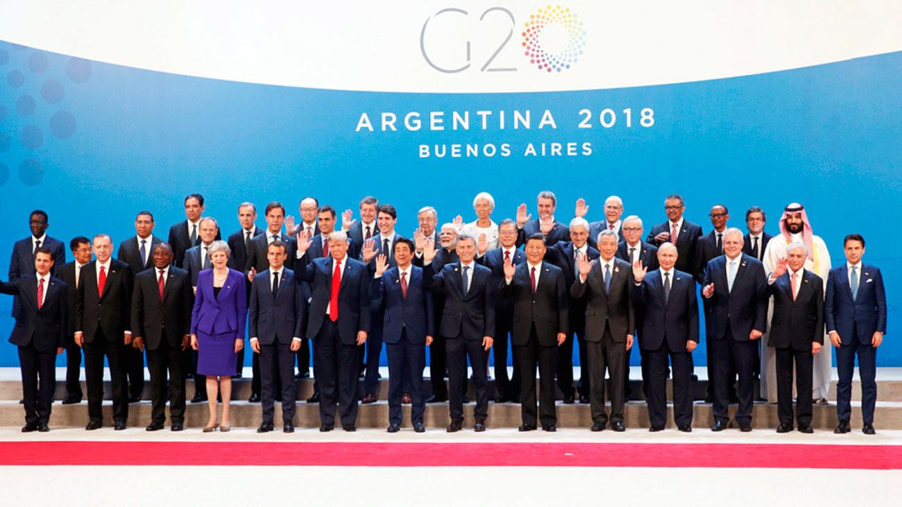 Primera cumbre del G20 para Pedro Sánchez