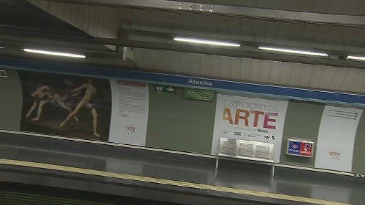 Las estaciones de Metropolitano y Atocha pasan a llamarse Vicente Aleixandre y Estación del Arte