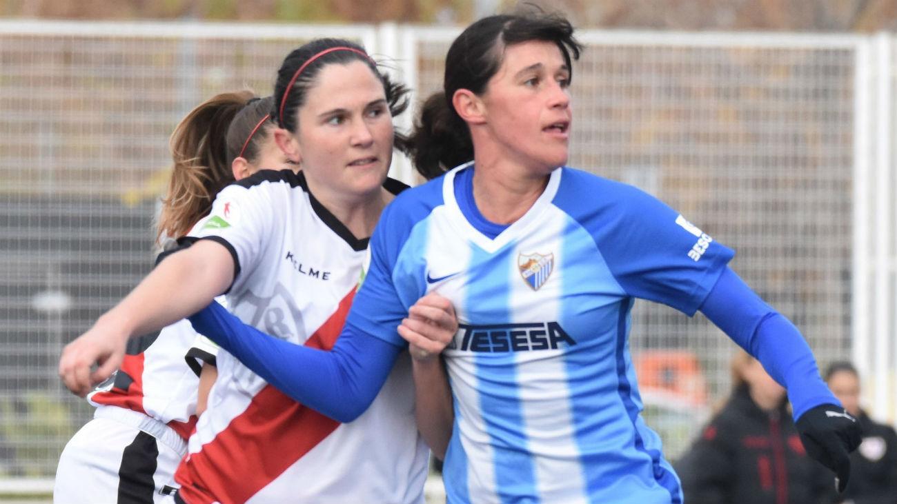 1-0. Iris da la victoria al Rayo ante el Málaga