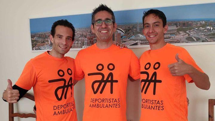 Tres 'Deportistas Ambulantes' en el Maraton de Valencia