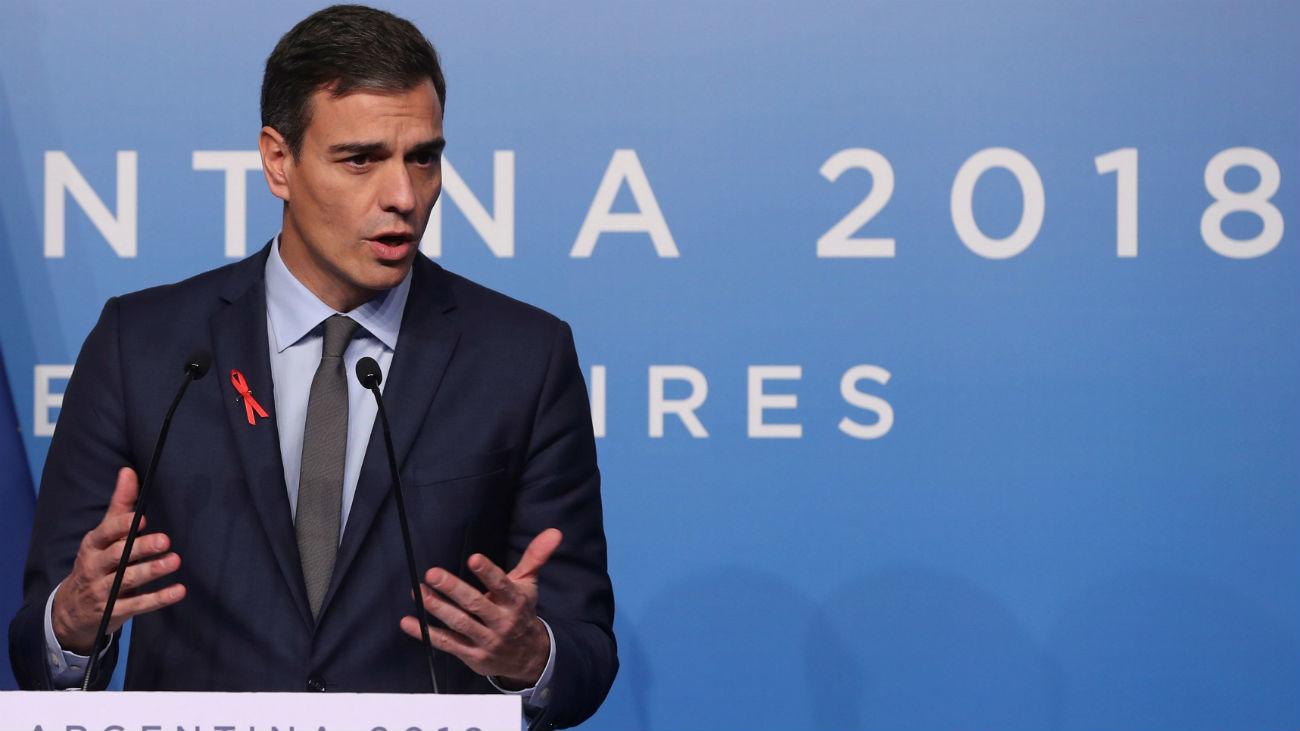 Sánchez garantiza un juicio justo a los independentistas