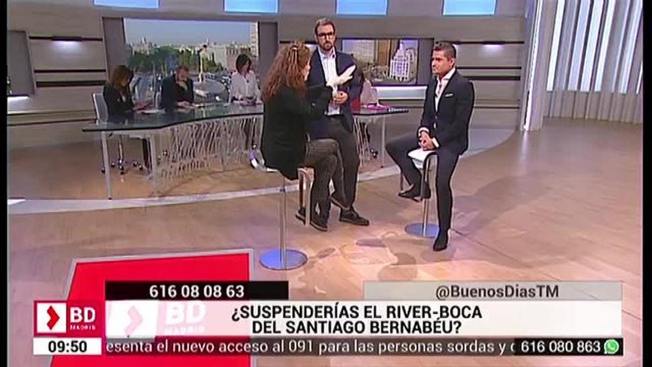 ¿Suspenderías el River  Boca del Santiago Bernabeu?